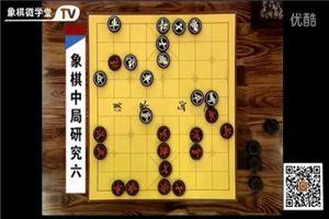 象棋中局研究:仙人指路对卒底炮一路对攻最激烈的变化