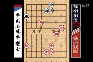 许银川实战教学:如何快速提高象棋