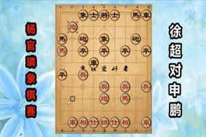 2018年杨官璘杯全国象棋公开赛:徐超先负申鹏