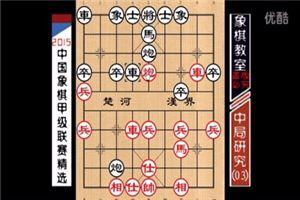 2015象棋甲级中局精选:顺炮不顺、泰山压顶(03)