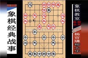 1980年全国象棋个人赛:杨官璘先负柳大华