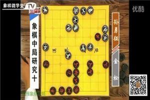 象棋中局研究:金松vs孙勇征