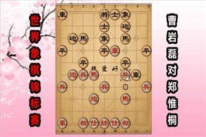 2017年世界象棋锦标赛:曹岩磊先和郑惟桐