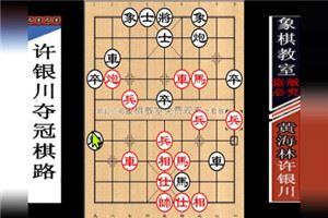 2009年全国象棋个人赛:许银川先胜黄海林
