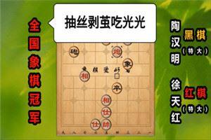 1996年银荔杯象棋争霸赛:徐天红先胜陶汉明