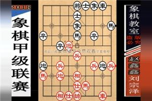2018年全国象棋甲级联赛:刘宗泽先负赵鑫鑫
