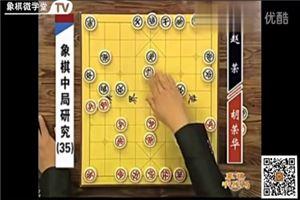 象棋中局研究:胡荣华vs赵荣