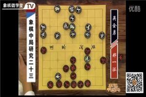 象棋中局研究:郑一泓vs吴金勇