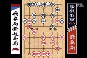 象棋开局系列教程飞象局对起马局02