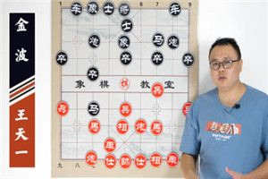 2020年全国象棋甲级联赛:王天一先胜金波