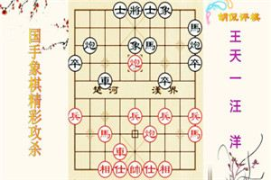 2014年电视象棋快棋邀请赛:汪洋先负王天一