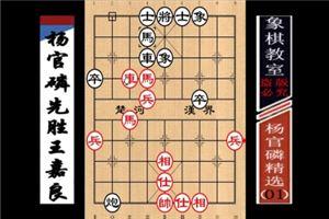 杨官璘精选:杨官璘先胜王嘉良(01)