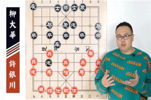 2007年中国象棋南北特级大师对抗赛:许银川先胜柳大华