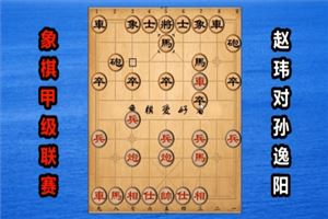 2018年全国象棋甲级联赛:赵玮先负孙逸阳