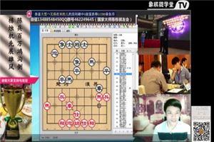象棋开局系列教程中炮横车盘头马对屏风马06