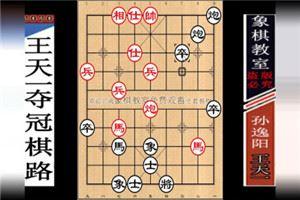2012年全国象棋个人赛:孙逸阳先负王天一