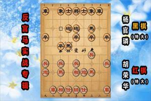 1987年全国象棋团体赛:胡荣华先和杨官璘
