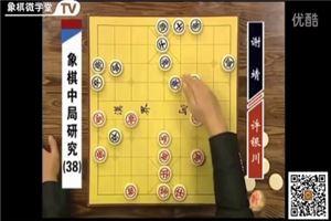 象棋中局研究(38)許銀川vs謝靖