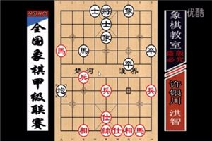 2016年全国象棋甲级联赛:洪智先负许银川