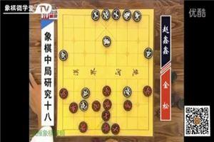 象棋中局研究(18)金松vs趙鑫鑫