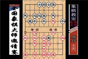 2016年宝宝杯象棋大师公开邀请赛:王天一先胜唐丹