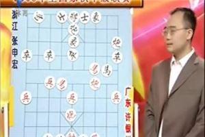 2006年全国象棋甲级联赛:许银川先胜张申宏