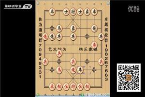 象棋开局系列教程中炮过河车对屏风马盘河马03