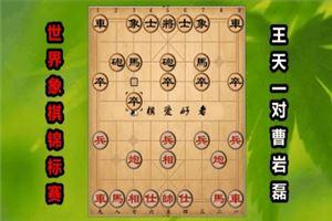 2017年世界象棋锦标赛:王天一先和曹岩磊