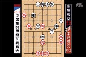 2015象棋甲级中局研究:恶手弃象、谋子失势(06)