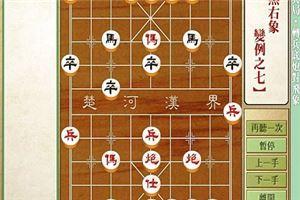 象棋开局系列教程仙人指路对兵局转兵底炮对飞象07