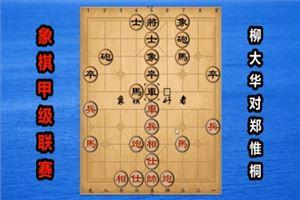 2018年全国象棋甲级联赛:柳大华先负郑惟桐