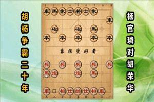 1960年两位宗师第一次交锋:杨官璘先胜胡荣华