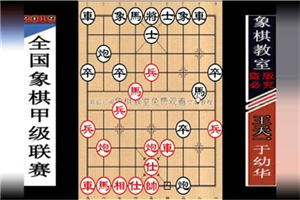 2019年全国象棋甲级联赛:于幼华先负王天一