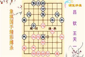2014年全国象棋冠军邀请赛:王天一先负吕钦