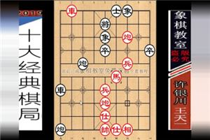 2016年全国象棋冠军邀请赛:王天一先胜许银川
