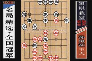 2012年全国象棋个人赛:王天一先胜孙勇征