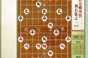 象棋开局系列教程仙人指路对兵局互跳左正马05