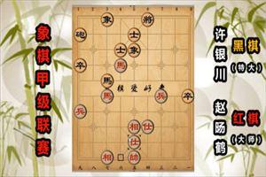 2019年全国象棋甲级联赛:赵旸鹤先负许银川