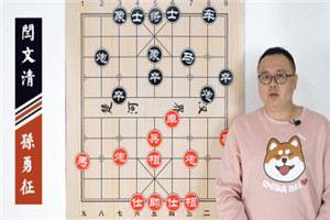 2001年全国象棋团体赛:孙勇征先负闫文清