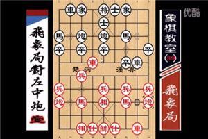 象棋开局系列教程飞象局对左中炮01